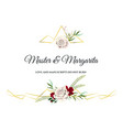 Roses wedding invitation card for design 01