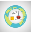 eco science research process icon vector image