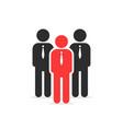 leadership like individual person vector image
