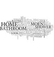 bathrooms are a home s true underachievers text vector image vector image