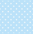 blue geometric seamless pattern with small vector image vector image