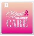 breast cancer awareness symbols vintage banner