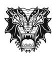 dragon 7 vector image vector image