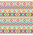 Ethnic pattern tropic vector image