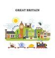 Great britain and london traveling concept vector image