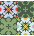 Set of seamless ornamental patterns vector image vector image