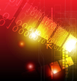 technology abstract background design vector image vector image