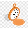 watch isometric icon vector image vector image