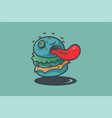 burgerkill vector image vector image