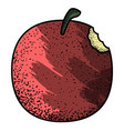 isolated vintage apple vector image