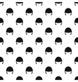 Military helmet pattern simple style vector image vector image