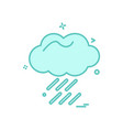 weather icon design vector image vector image