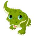 baalligator vector image