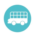 bus classic london isolated icon vector image vector image
