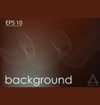 dark background and white lines vector image vector image