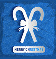 merry christmas decorative background vector image vector image