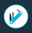 multitool icon colored symbol premium quality vector image vector image