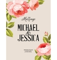 The marriage sign label vector image vector image