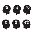 Thinking Heads vector image