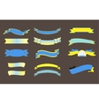 Ribbons Big Set Isolated vector image