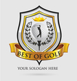 best of golf vector image vector image