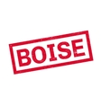 Boise rubber stamp vector image vector image