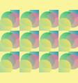 circle bokeh pattern vector image