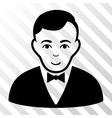 Dealer Icon vector image