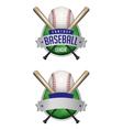 fantasy baseball draft vector image vector image