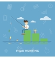 Finding new ideas for the money vector image