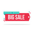 price label spesial offer sale sticker sign vector image