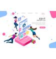 User profile mobile concept
