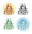 wernigerode germany town vector image
