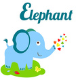 ElephantLet vector image