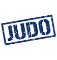 judo stamp vector image vector image