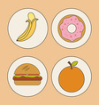 kids nutrition vector image