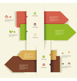 Modern design templateuse for infographicsnumbered vector | Price: 1 Credit (USD $1)
