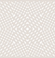 white and beige geometric seamless pattern with vector image vector image