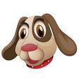 A cute puppy vector image vector image