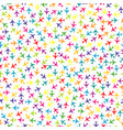 colorful seamless background with planes vector image