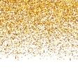 Golden explosion confetti