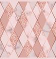 marble luxury geometric seamless pattern vector image