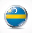 Szeklerland flag button vector image
