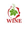 wine vector image vector image