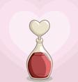Bottle of Love Potion vector image