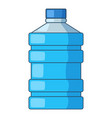 big bottle of water icon cartoon style vector image vector image