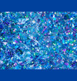 blue sparkles blue glitter background elegant vector image vector image