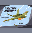 colorful a military vector image