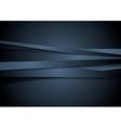Dark corporate stripes background vector image vector image
