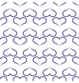 Heart seamless pattern 1 vector image vector image